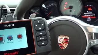 iCarsoft POR II Porsche Check Engine Light Reset Reduced Engine Performance Limp Mode