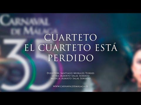 """Carnaval de Málaga 2015 Cuarteto """"El cuarteto está perdido"""" Semifinales"""