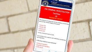 How to remove FBI warning virus from iPhone/iPad in Safari