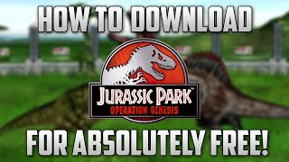 How to Download Jurassic Park: Operation Genesis For FREE!
