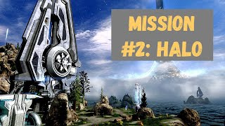 Halo CE Part Two: Halo (Heroic Difficulty) The most beautiful Halo Mission?