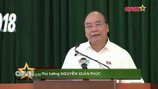 Thủ tướng Nguyễn Xuân Phúc trả lời cử tri về vụ biểu tình phản đối Luật Đặc khu