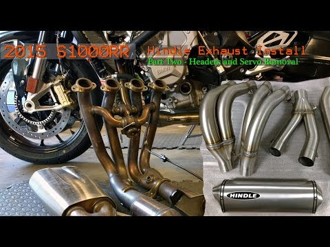 Bmw S1000rr Akrapovic Full Exhaust System Install How To Save Money And Do It Yourself