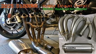 2015 S1000RR Hindle Exhaust Install - Part Two - Headers & Servo Removal