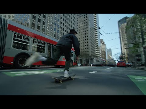 Hugo Corbin's First Skate Trip to SF