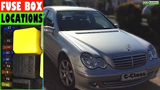 Mercedes C-Class Fuse Box Locations and how to check Fuses on Mercedes C-Class