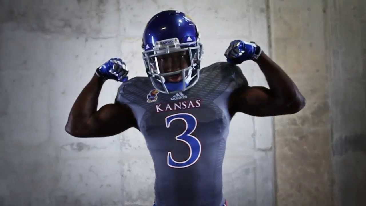 Kansas Football Unveils New Adidas Uniforms - YouTube | 1280 x 720 jpeg 47kB