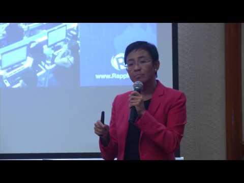 Ms. Maria Ressa Speaks on Media Ethics (Dec. 7)
