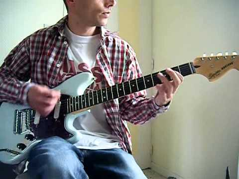 NIRVANA  sappy - guitar cover -