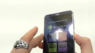 Видео обзор смартфона Prestigio Grace S5 LTE 8 Гб голубой