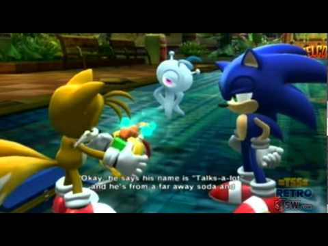 Sonic Colours - Cutscene 4 (WORLD EXCLUSIVE)