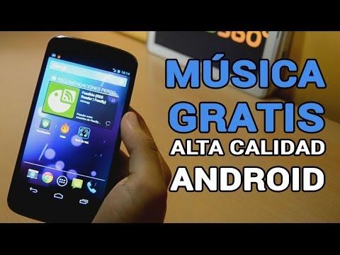 La mejor aplicación para descargar MÚSICA GRATIS en ANDROID 2014