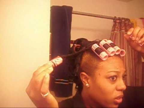 Natural Hair Soft Spiral Curls And Mohawk YouTube