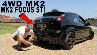 4 WHEEL DRIVE MK2 FOCUS ST - MY FIRST DRIVE *320BHP + 4WD LAUNCH*