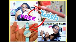 HOW TO GET FREE THINGS OFF WISH NO SHIPPING COST (NOT CLICKBAIT) FREE THINGS OFF WISH