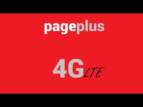 PagePlus 4G LTE-Verizon Prepaid