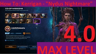 "StarCraft 2: LOTV - How to Kerrigan ""Nydus Nightmare"" Strategy, Brutal Co-op"
