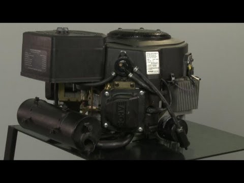 Kohler Twin Cylinder Command Small Engine Disassembly