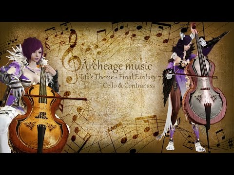 [Archeage Music] Tifa's Theme - Final Fantasy 7 Cello & Contrabass