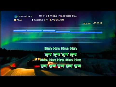 Mera Pyaar Bhi Tu Hai Persang Karaoke Demo video
