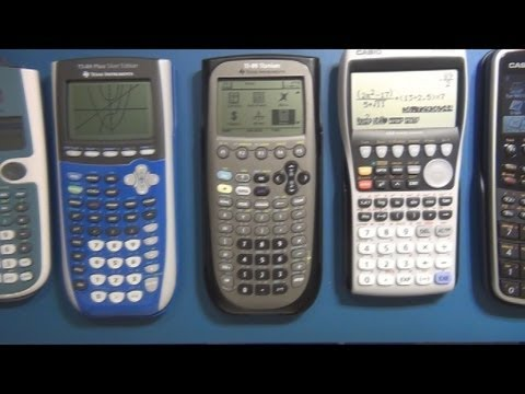 CAM #0 - Graphing Calculator Review / Buyers Guide / Comparison Part 1 - General Calculation