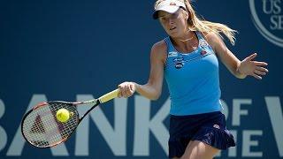 2015 Bank of the West Classic Quarterfinal | Elina Svitolina vs Alison Riske | WTA Highlights