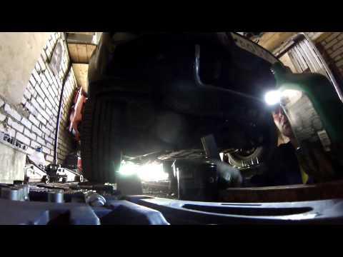 Замена масла на jeep