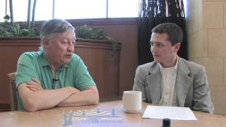 Anatoly Karpov Interview - Presenter: FM William Stewart (Entrevista Ajedrez)