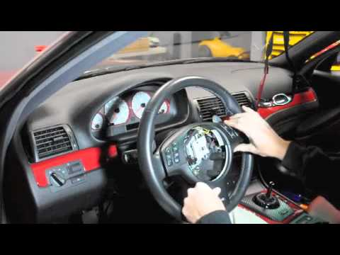 BMW e46 M3 steering trim removal