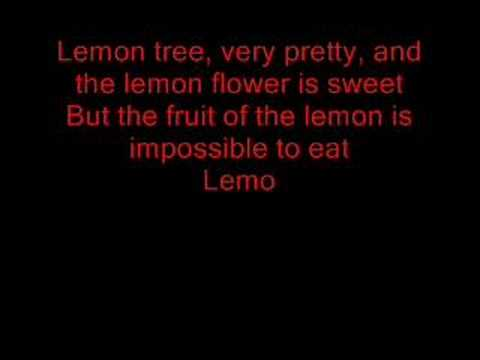 Trini Lopez - Lemon Tree With Lyrics video