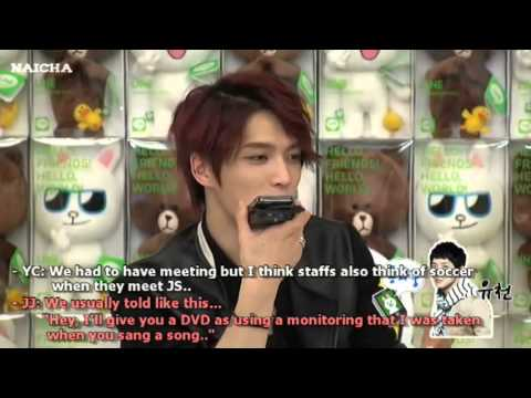 [Eng sub] Jaejoong LINE chat Yuchun call in  
