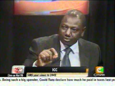 Cheche : William Ruto 27th June 2012
