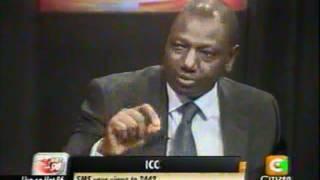 Cheche : William Ruto 27th June 2012