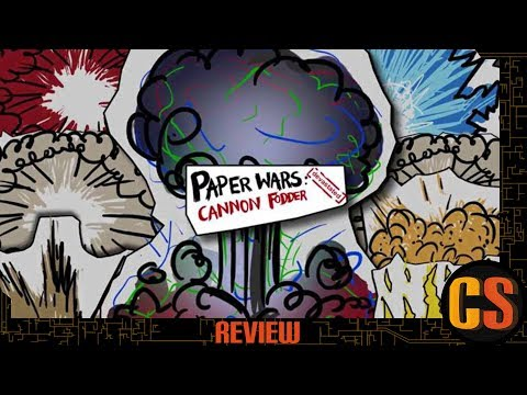 PAPER WARS: CANNON FODDER DEVASTATED - NINTENDO SWITCH REVIEW