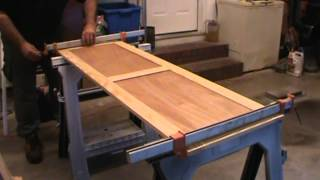 Cabinet Construction - Part 6 - Gluing up side and back assemblies