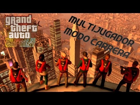 [GamePlay] GTA IV The Ballad of Gay Tony Multijugador Modo Carrera (Nueva Sección)