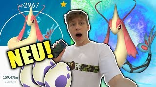 NEUES POKEMON! 10KM EIER! BARSCHWA - MILOTIC • Pokemon Go deutsch