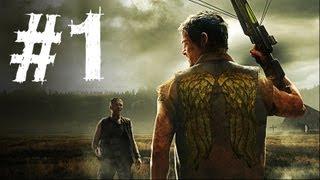 The Walking Dead Survival Instinct Gameplay Walkthrough Part 1 - Intro (Game)