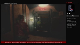 """""""THOMAS RETRO GAMER plays RE2  Remake (PS4) HAPPY TUESDAY EVERYONE!!! / Claires Story"""" (Part 4)"""""""