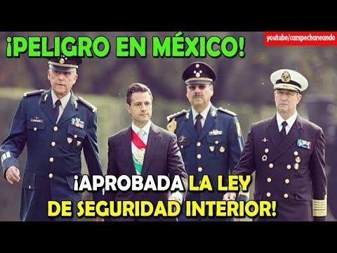 Peña Nieto en lo OBSCURITO nos aplica la Ley de Seguridad Interior - Campechaneando