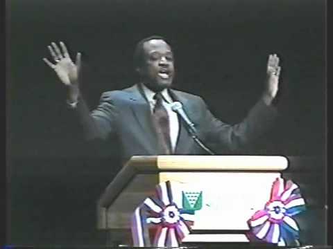 3 Of 7 Alan Keyes - Keyes 2000 Renew America Rally Orem Utah