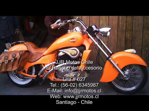 Honda Steed transformada a modelo Indian / JJR Motos Chile