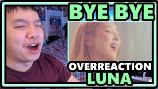 Luna 루나 Bye Bye 안녕 이대로 안녕 Mv Overreaction This Is Heavenly
