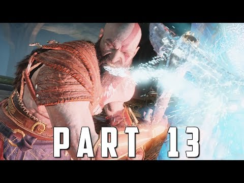 GOD OF WAR Walkthrough Gameplay Part 13 - DARK ELVES (God of War 4) thumbnail