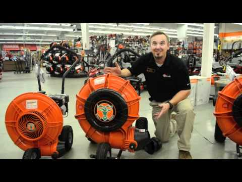 Billy Goat and Little Wonder Push Blowers
