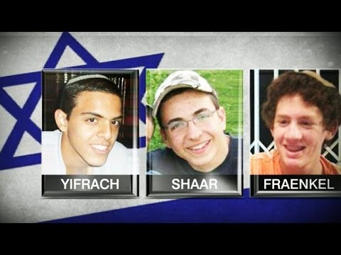 3 Teens Who Went Missing in Israel Found Dead; Air Strikes Hit Gaza