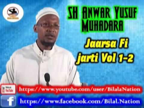 Sh Anwar  Yusuf Muhadara  Jaarsa Fi Jarti Vol 1-2