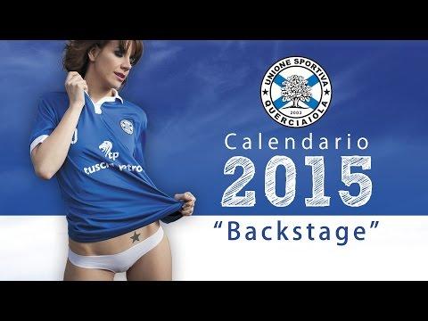 Calendario 2015  U.S.Querciaiola - backstage
