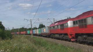 Lithuania Class 2M62 in the new red livery