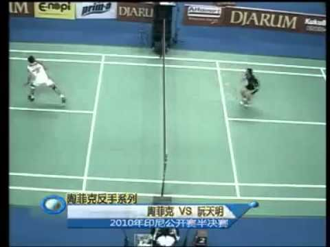 Top 10 Backhand Smash From The Legend Taufik Hidayat video